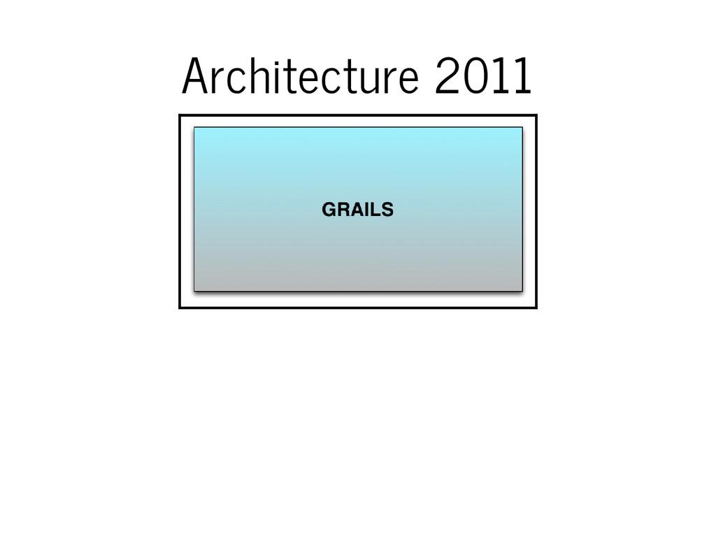 Architecture 2011