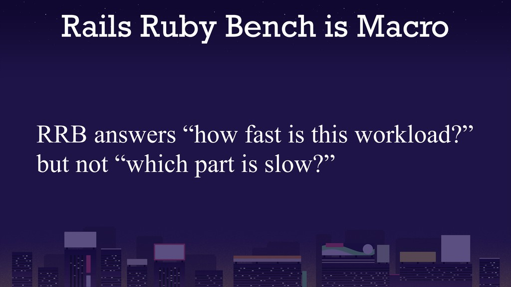 "Rails Ruby Bench is Macro RRB answers ""how fast..."