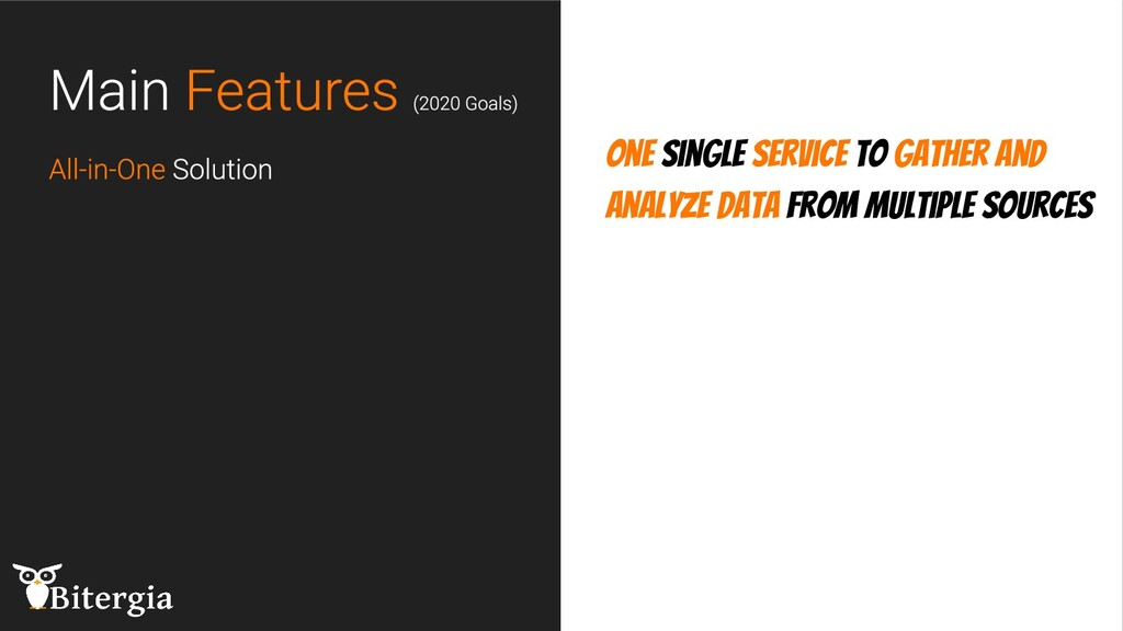 One single service to gather and analyze data f...