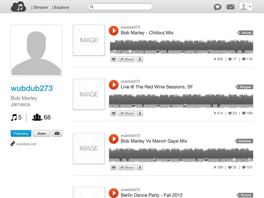 IMAGE wubdub273 Bob Marley - Chillout Mix Share...