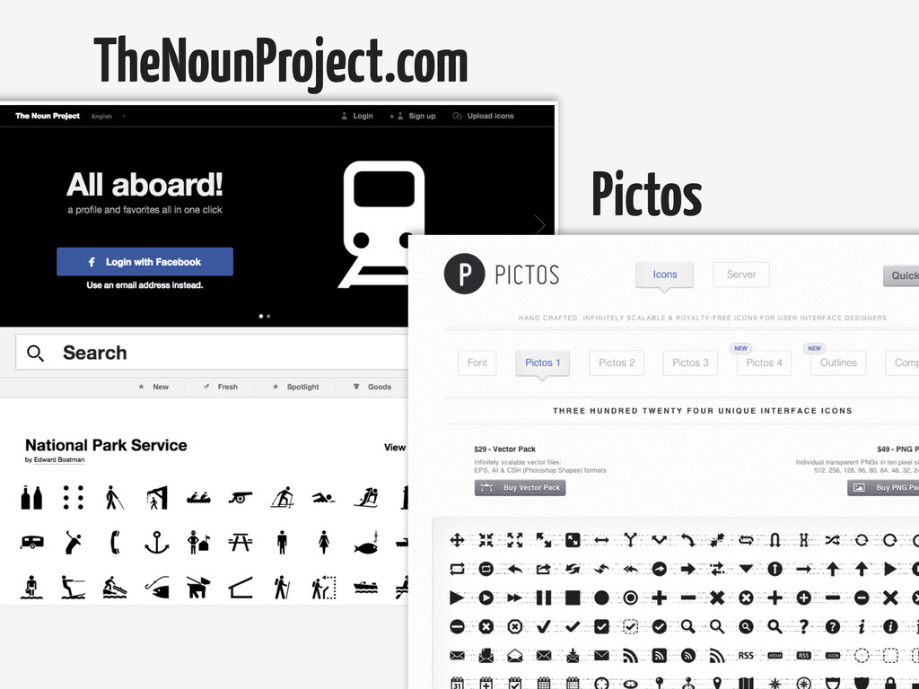 TheNounProject.com Pictos