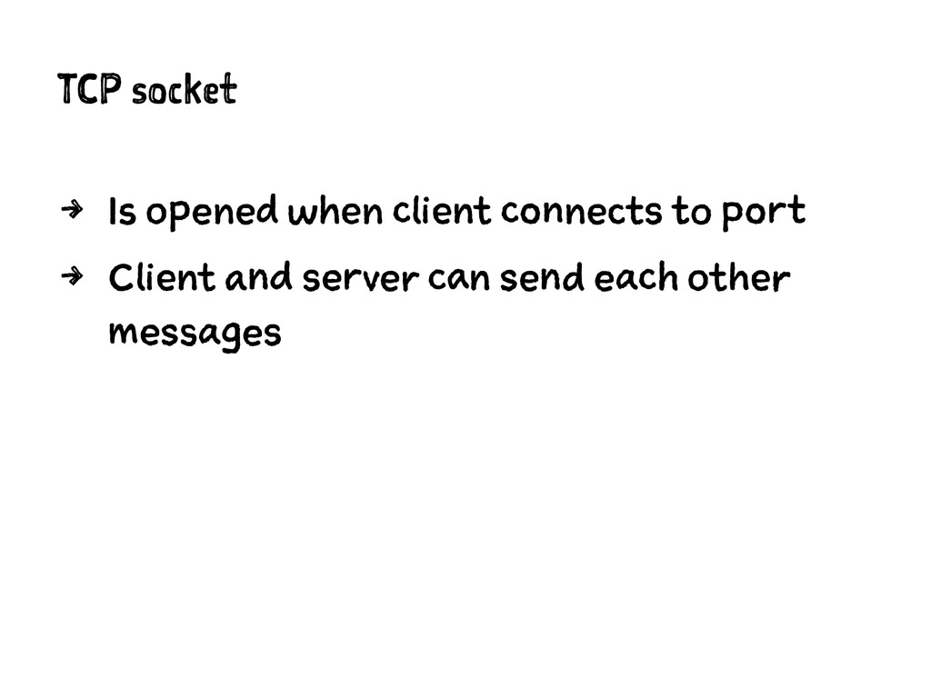 TCP socket 4 Is opened when client connects to ...