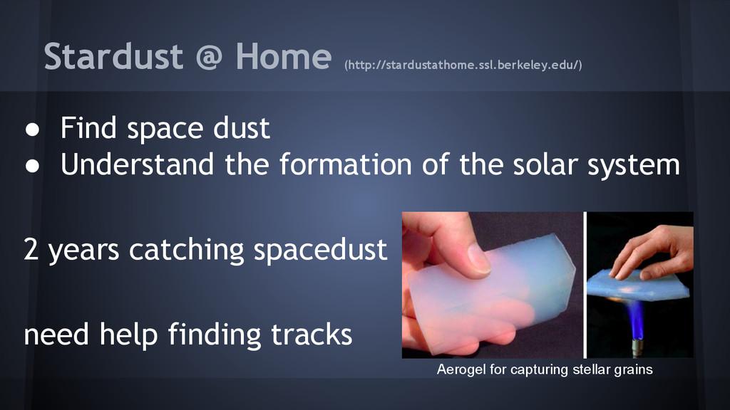 Stardust @ Home (http://stardustathome.ssl.berk...