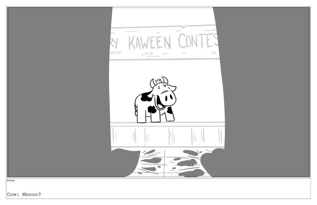 Dialog Cow: Moooo?