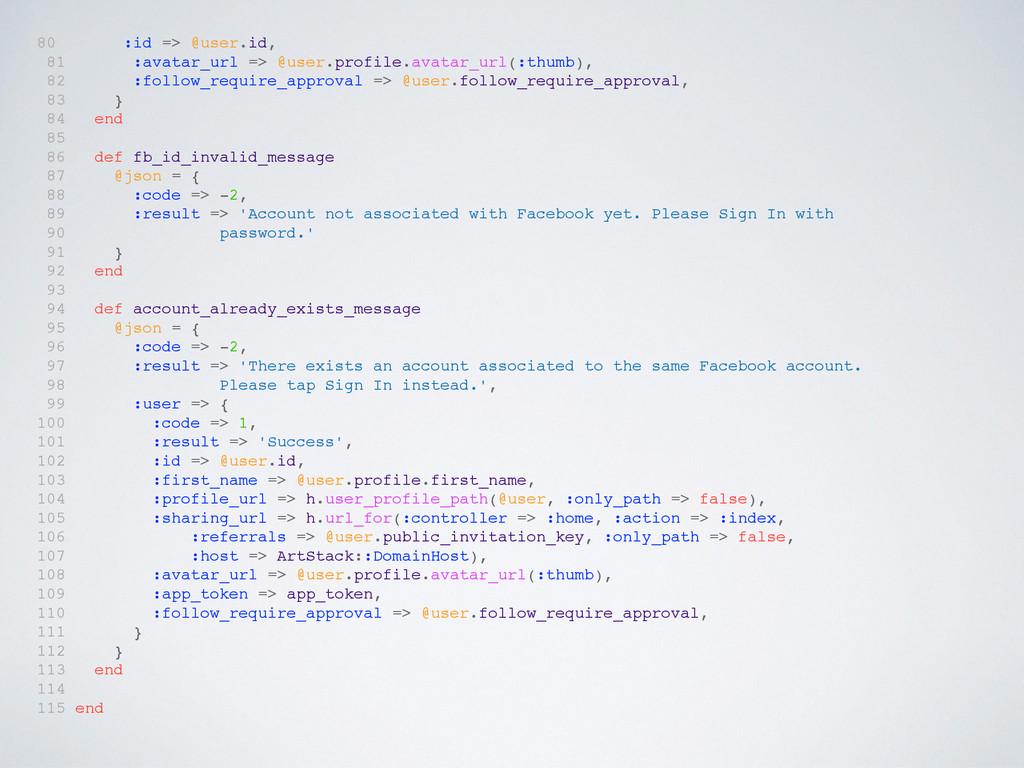 80 :id => @user.id, 81 :avatar_url => @user.pro...