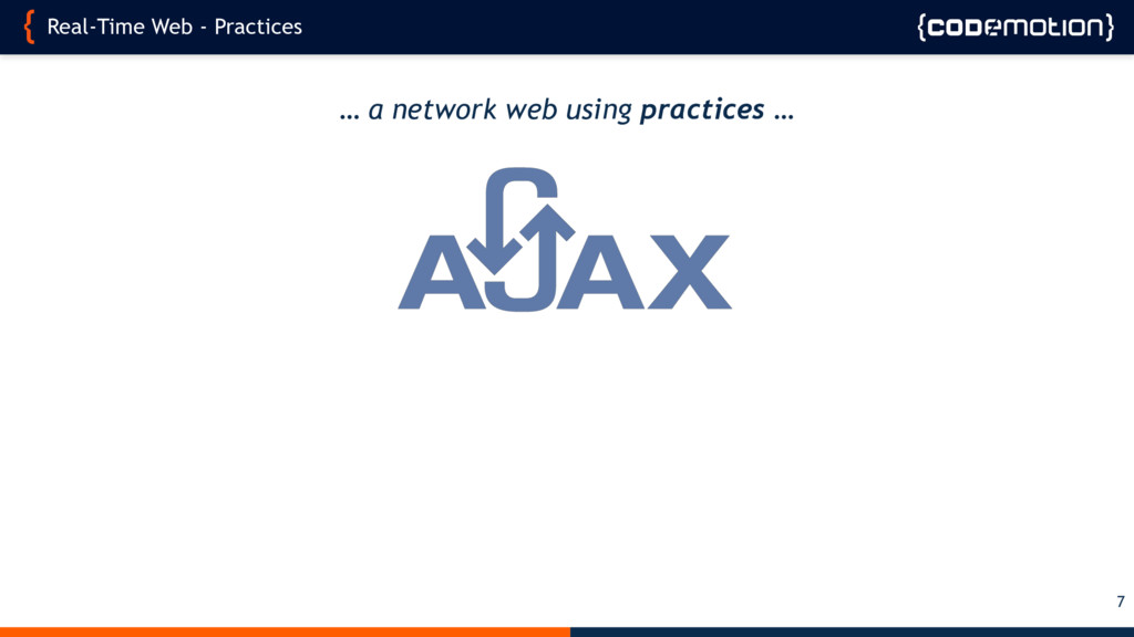 Real-Time Web - Practices 7 … a network web usi...