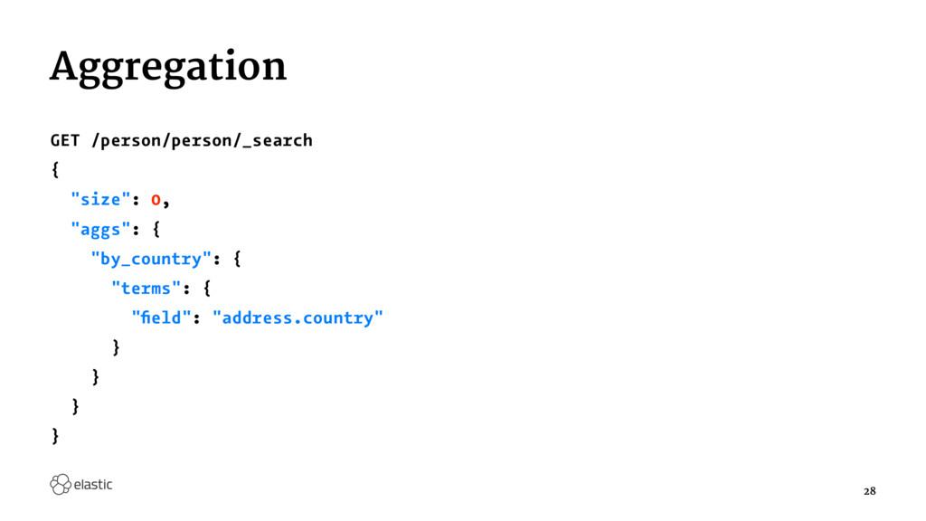 "Aggregation GET /person/person/_search { ""size""..."