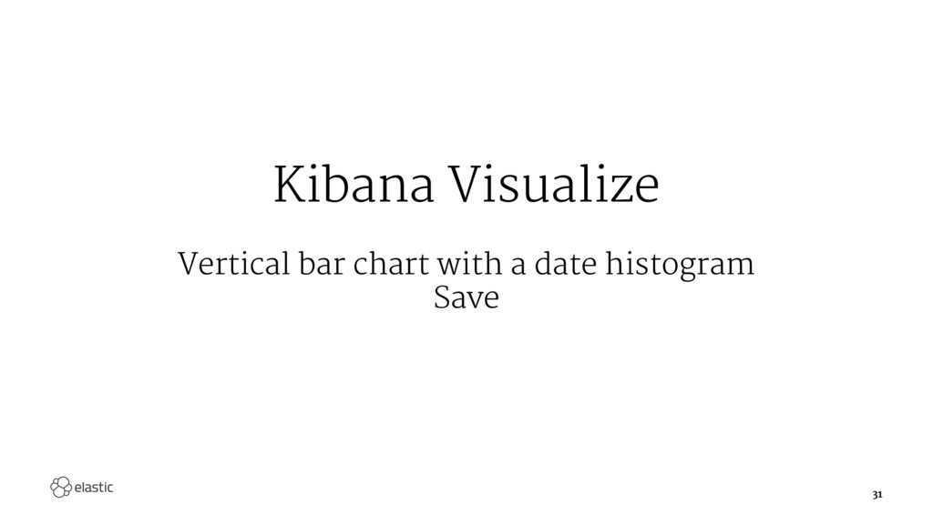 Kibana Visualize Vertical bar chart with a date...