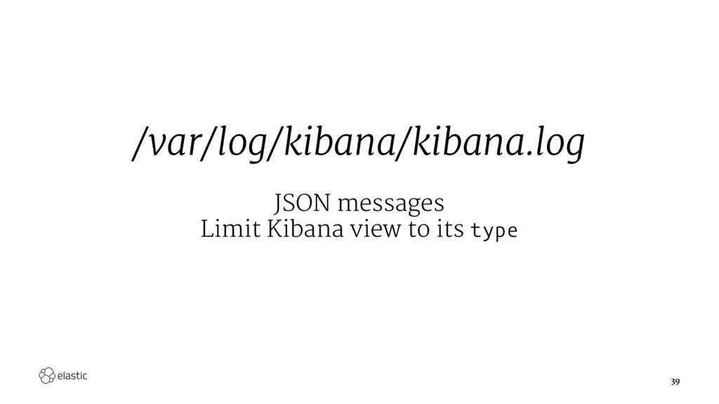 /var/log/kibana/kibana.log JSON messages Limit ...