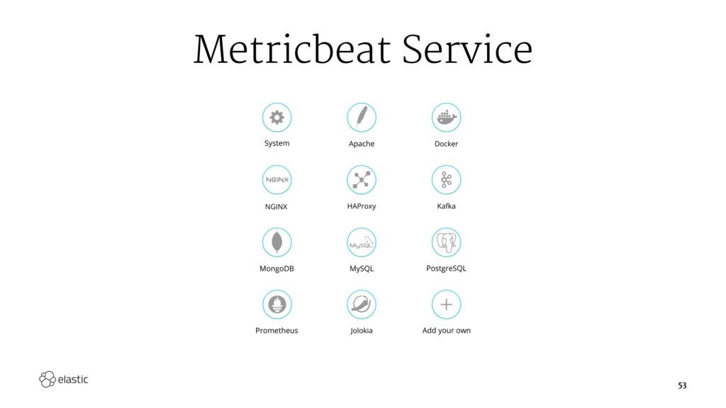Metricbeat Service 53