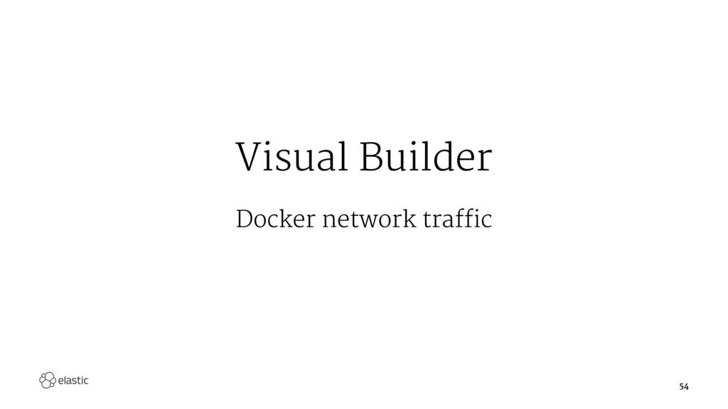 Visual Builder Docker network traffic 54