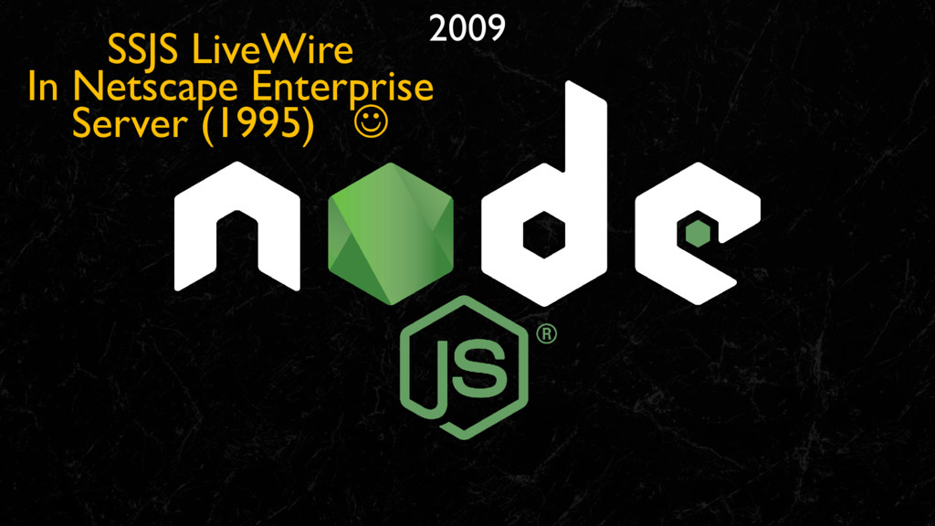 2009 SSJS LiveWire In Netscape Enterprise Serve...