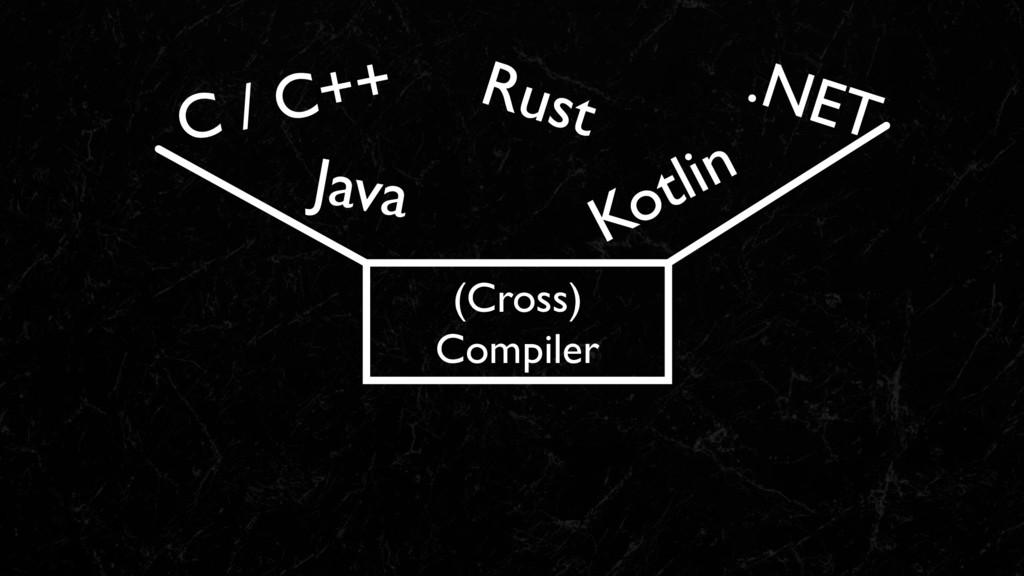 (Cross) Compiler
