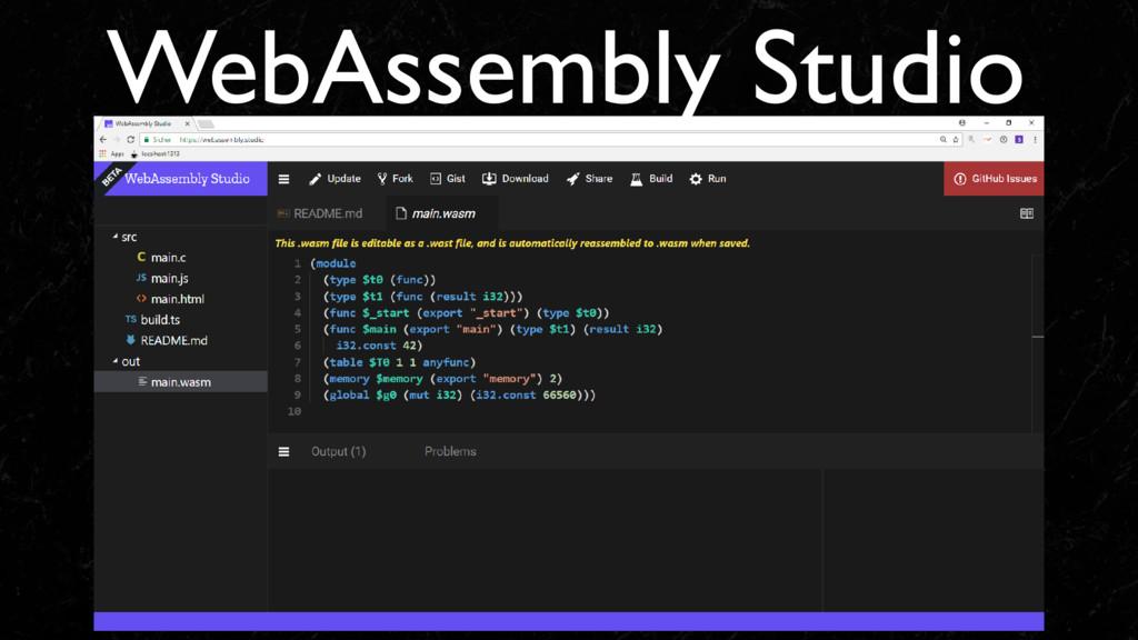 WebAssembly Studio