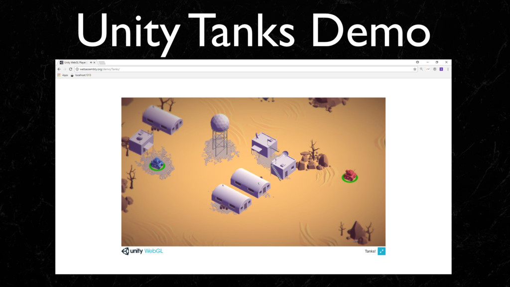 Unity Tanks Demo