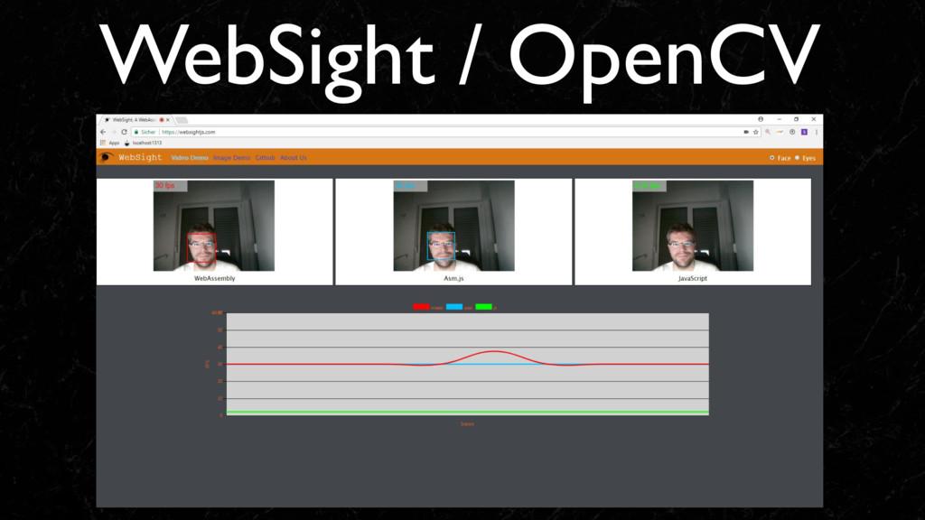 WebSight / OpenCV