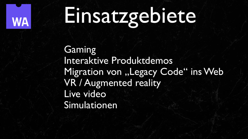 "Gaming Interaktive Produktdemos Migration von ""..."