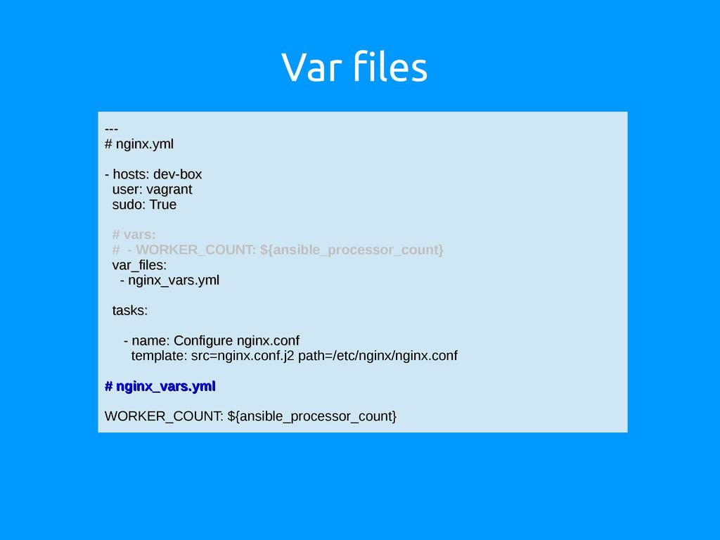 Var files --- --- # nginx.yml # nginx.yml - hos...