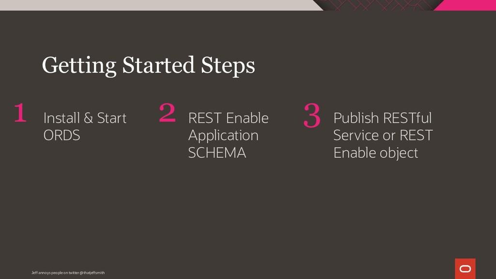Install & Start ORDS REST Enable Application SC...