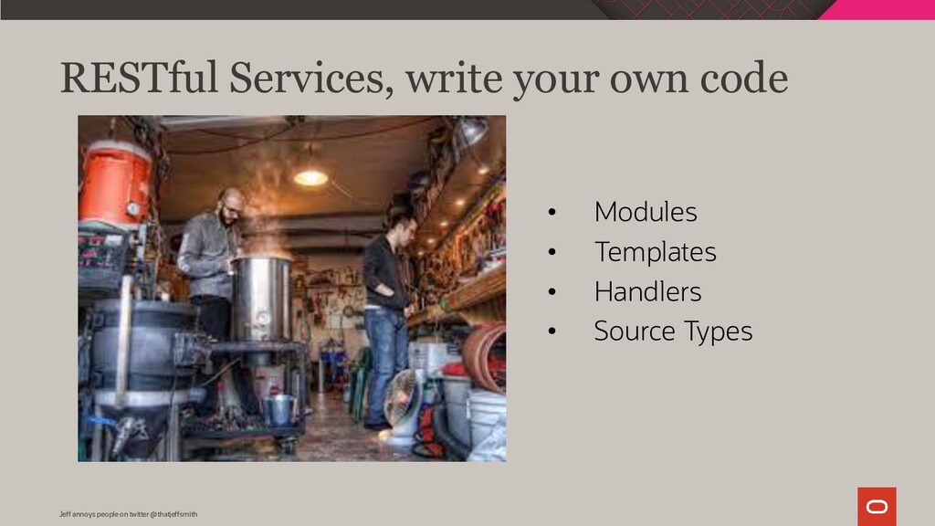 RESTful Services, write your own code Jeff anno...