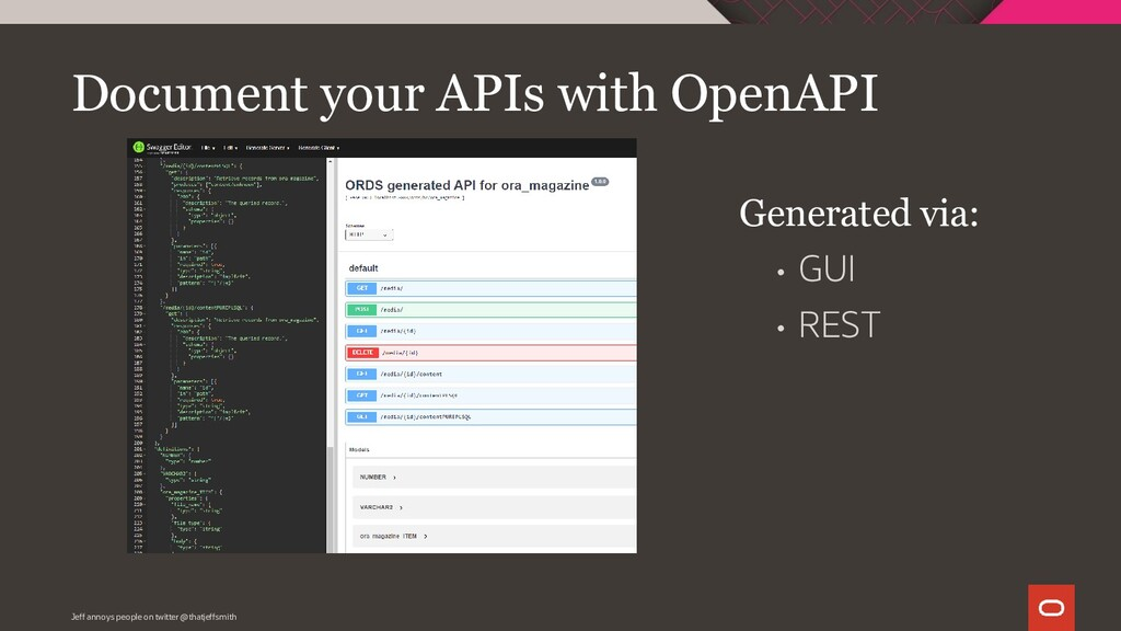 Document your APIs with OpenAPI • GUI • REST Ge...