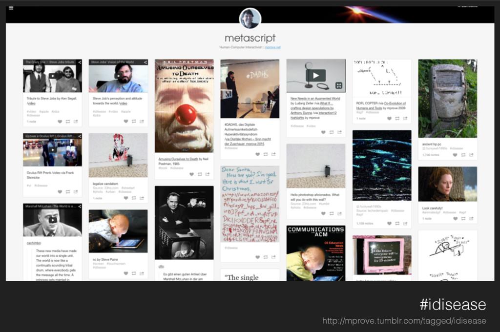 #idisease http://mprove.tumblr.com/tagged/idise...
