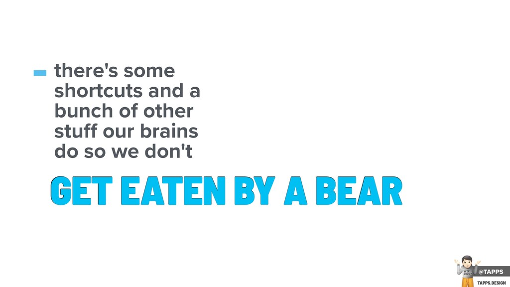 GET EATEN BY A BEAR -there's some shortcuts and...