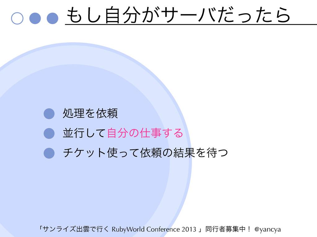 ʮαϯϥΠζग़ӢͰߦ͘ RubyWorld Conference 2013 ʯಉߦऀืूதʂ ...