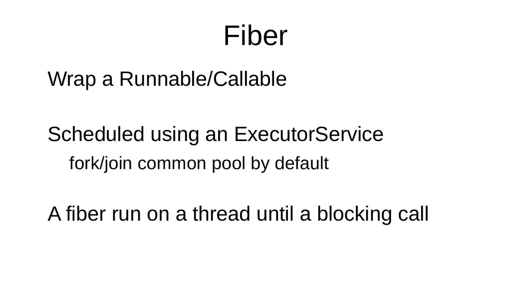 Fiber Wrap a Runnable/Callable Scheduled using ...