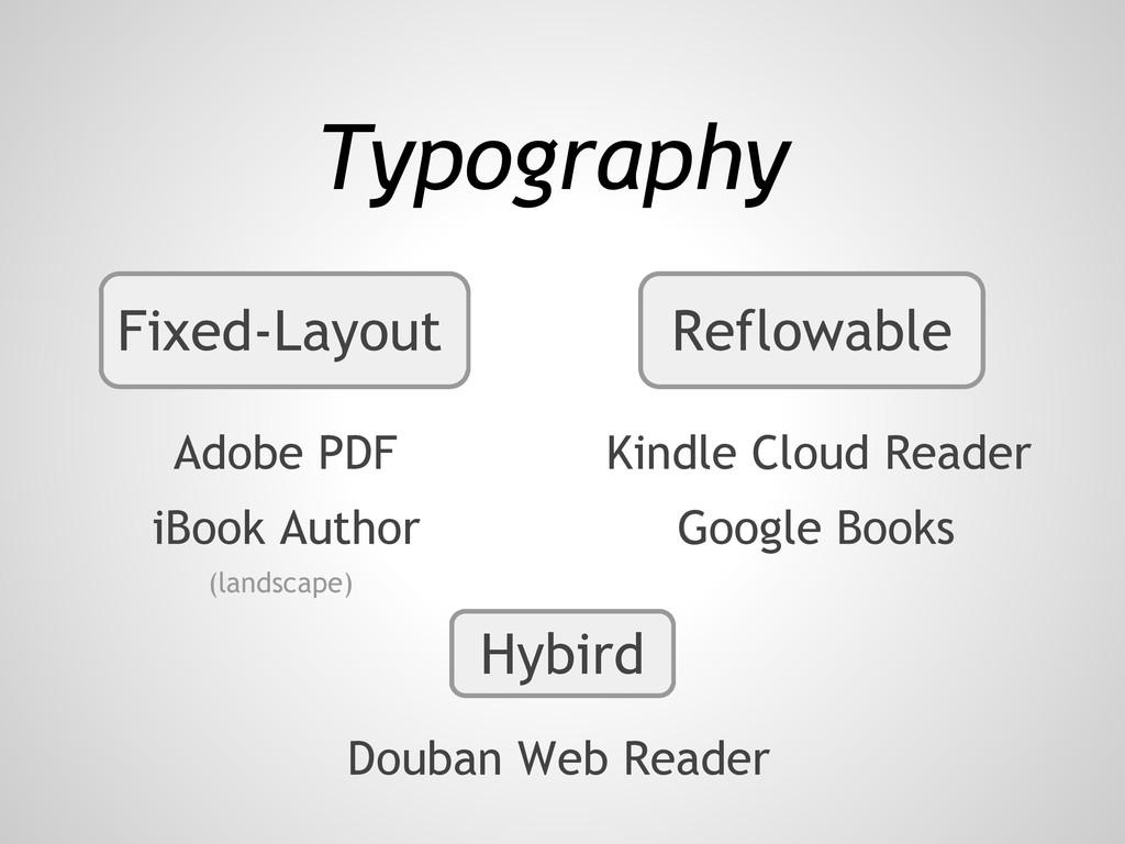 Fixed-Layout Reflowable Typography Adobe PDF Ki...