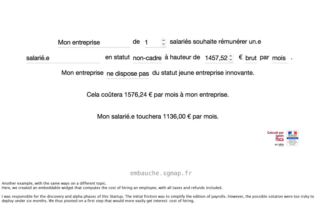 embauche.sgmap.fr Another example, with the sam...