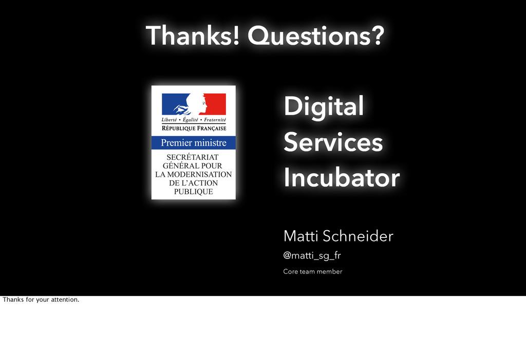 Matti Schneider @matti_sg_fr Digital Services I...