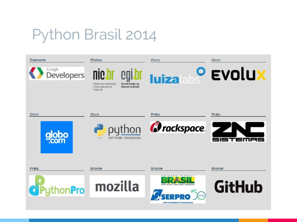 Python Brasil 2014