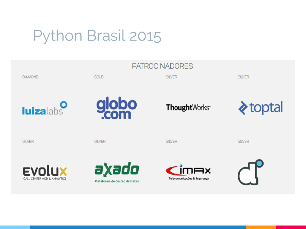 Python Brasil 2015