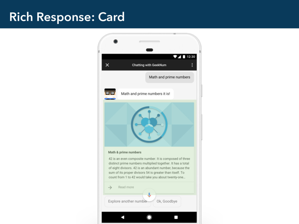 Rich Response: Card