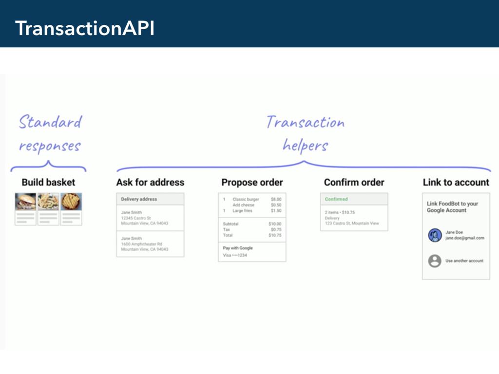 TransactionAPI
