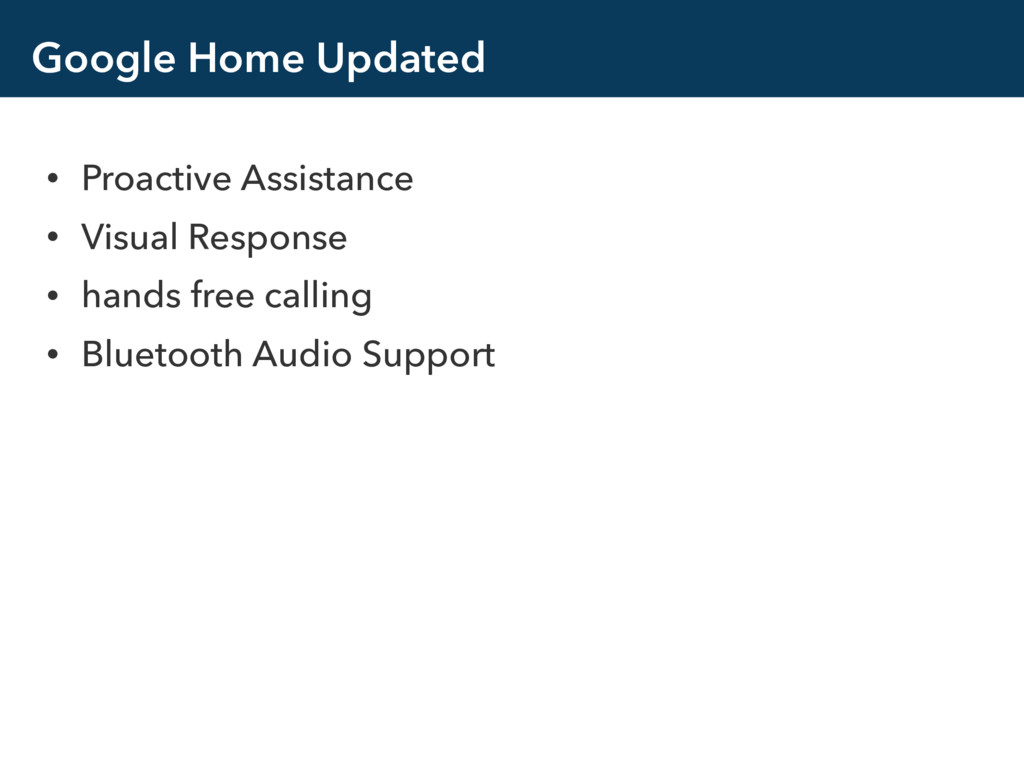 Google Home Updated • Proactive Assistance • Vi...