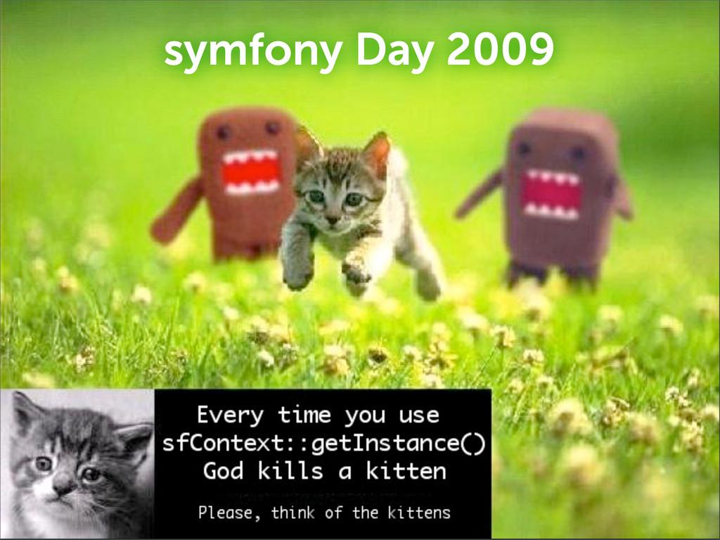 symfony Day 2009