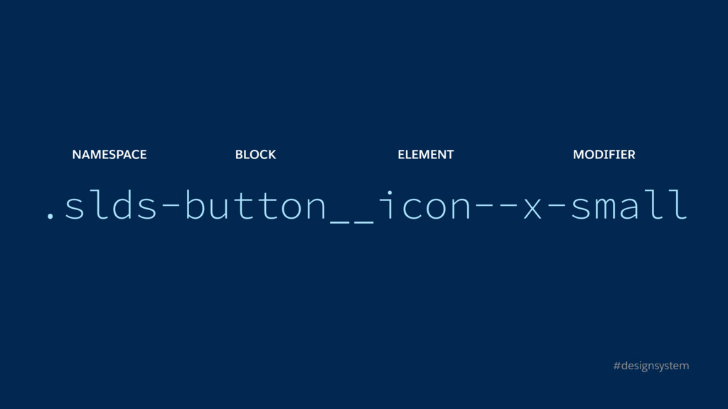 .slds-button__icon--x-small #designsystem NAMES...