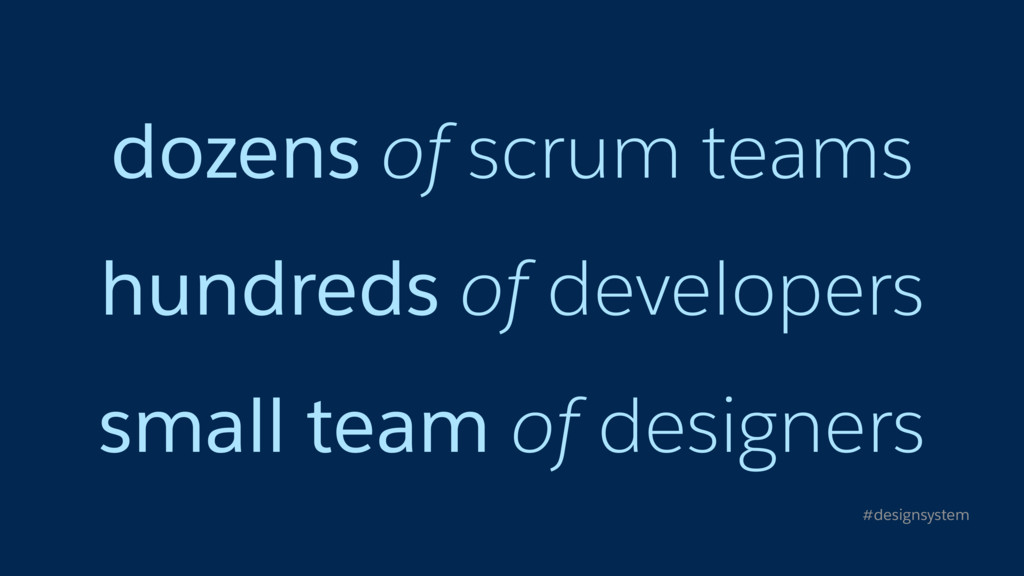 dozens of scrum teams hundreds of developers sm...