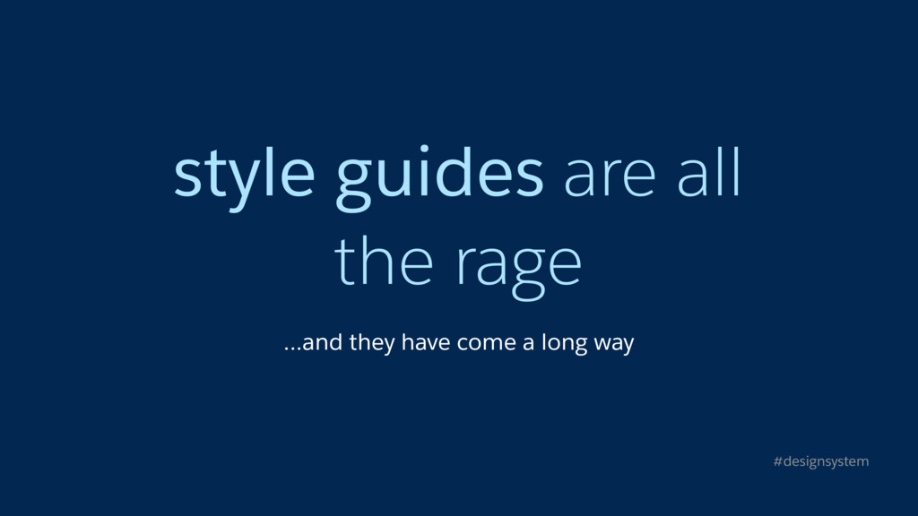style guides are all
