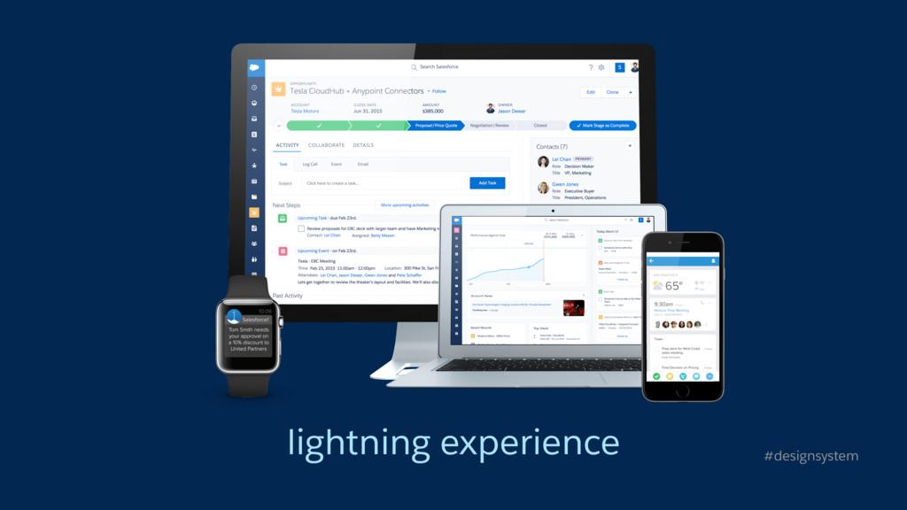 lightning experience #designsystem