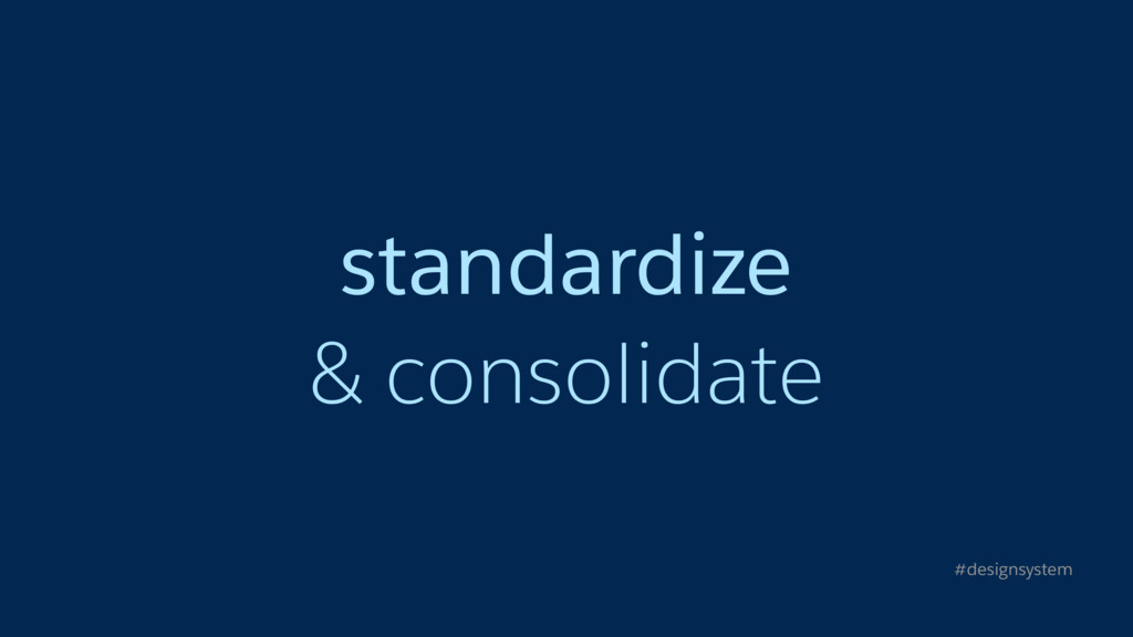 standardize
