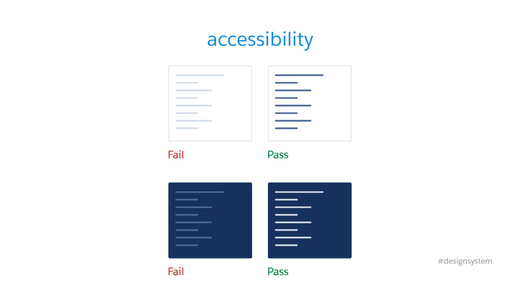 accessibility #designsystem