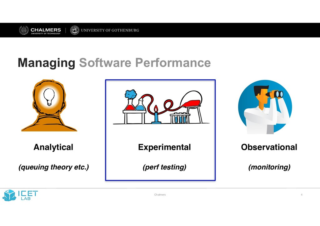 Chalmers !4 Managing Software Performance Analy...