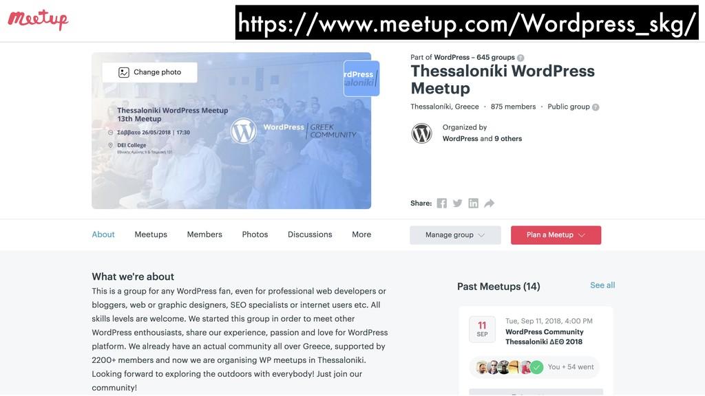 https://www.meetup.com/Wordpress_skg/