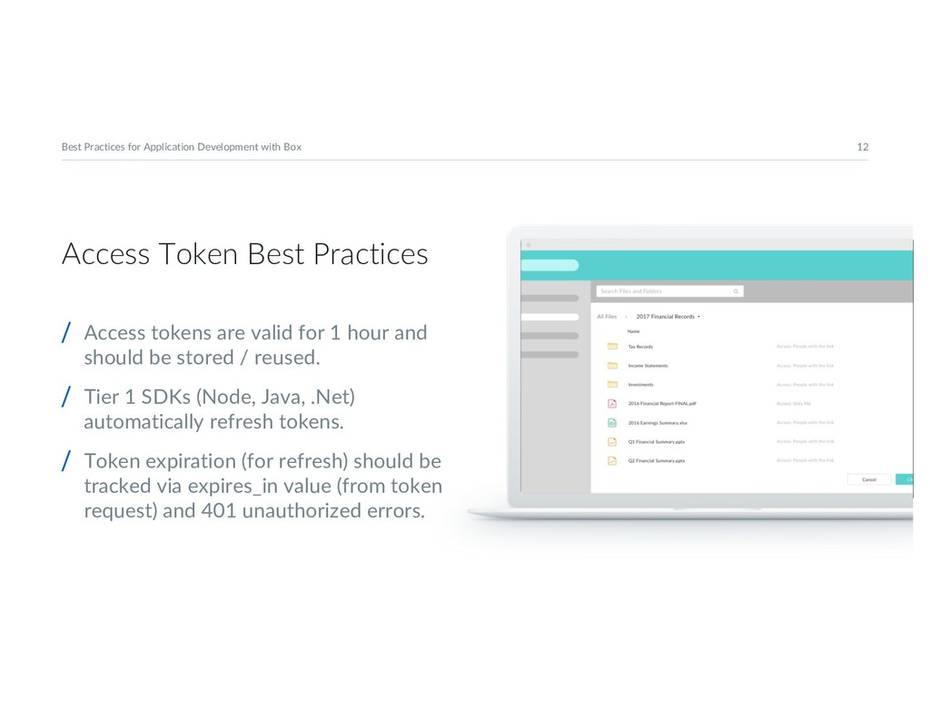 12 Best Practices for Application Development w...