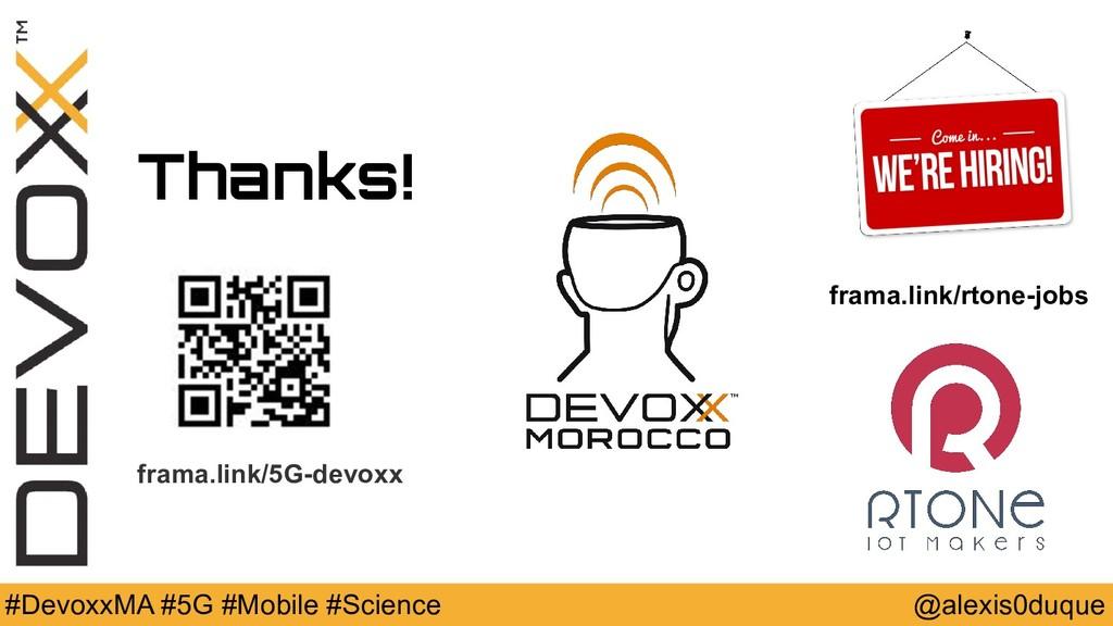 @alexis0duque #DevoxxMA #5G #Mobile #Science Th...