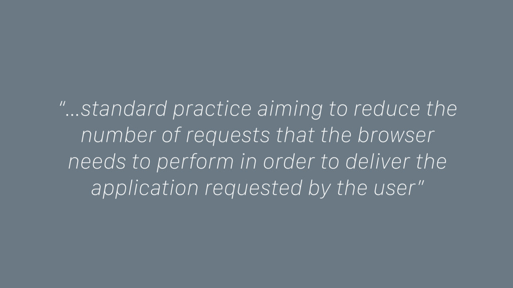 """…standard practice aiming to reduce the number..."