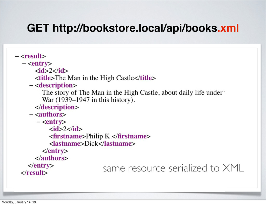 GET http://bookstore.local/api/books.xml same r...